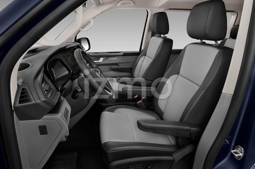 Front seat view of 2020 Volkswagen Caravelle Highline 5 Door Passenger Van Front Seat  car photos