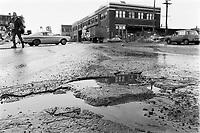 Montreal en hiver,  8 Mars 1973<br /> PHOTO :   Agence Quebec Presse - Alain Renaud