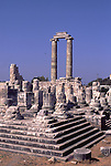 Asia, TUR, Turkey, Aegean Coast, Aegean, Didyma, Temple of Apollo ,Ionic Fluted Columns