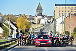The start of Liege-Bastogne-Liege Femmes 2021, running 141km from Bastogne to Liege, Belgium. 25th April 2021.  <br /> Picture: A.S.O./Gautier Demouveaux | Cyclefile<br /> <br /> All photos usage must carry mandatory copyright credit (© Cyclefile | A.S.O./Gautier Demouveaux)