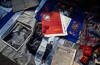 China, Peking, Teufelsmarkt (Gui Shi) bei der Jinsong-Straße, Mao-Reliqien
