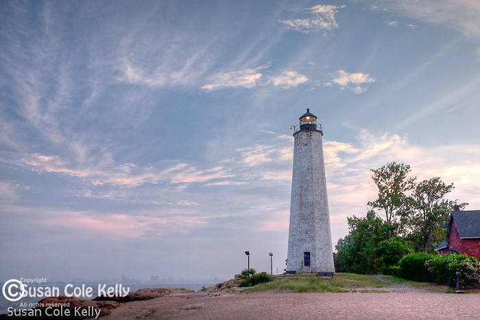 Five Mile Point Lighthouse, New Haven, CT, USA