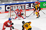 Eishockey: Deutschland – Tschechien am 01.05.2021 in der ARENA Nürnberger Versicherung in Nürnberg<br /> <br /> Save von Tschechiens Torhüter Roman Will (Nr.35) gegen Deutschlands Moritz Müller (Nr.91)<br /> <br /> Foto © Duckwitz/osnapix/PIX-Sportfotos *** Foto ist honorarpflichtig! *** Auf Anfrage in hoeherer Qualitaet/Aufloesung. Belegexemplar erbeten. Veroeffentlichung ausschliesslich fuer journalistisch-publizistische Zwecke. For editorial use only.