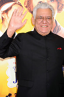 NEW YORK CITY, NY, USA - AUGUST 04: Om Puri at the World Premiere Of Dreamworks Pictures' 'The Hundred-Foot Journey' held at Ziegfeld Theatre on August 4, 2014 in New York City, New York, United States. (Photo by Celebrity Monitor)