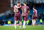 Rangers v St Johnstone…16.02.19…   Ibrox    SPFL<br />Chris Kasne and Liam Craig leaves the pitch at full time after earning a point<br />Picture by Graeme Hart. <br />Copyright Perthshire Picture Agency<br />Tel: 01738 623350  Mobile: 07990 594431