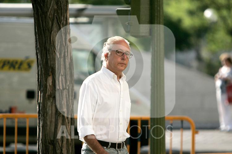 Operacion Puerto judge Antonio Serrano, July 31, 2007. (ALTERPHOTOS/Alvaro Hernandez).