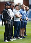 Joey Barton - with Danny Willett, Henrik Stenson, Mark Waburton, Martyn Waghorn, Jim Stewart and Kenny Miller.
