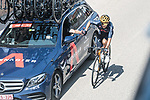 Drinks from the team car for Richard Carapaz (ECU) Ineos Grenadiers during Stage 5 of La Vuelta d'Espana 2021, running 184.4km from Tarancón to Albacete, Spain. 18th August 2021.    <br /> Picture: Charly Lopez/Unipublic   Cyclefile<br /> <br /> All photos usage must carry mandatory copyright credit (© Cyclefile   Unipublic/Charly Lopez)