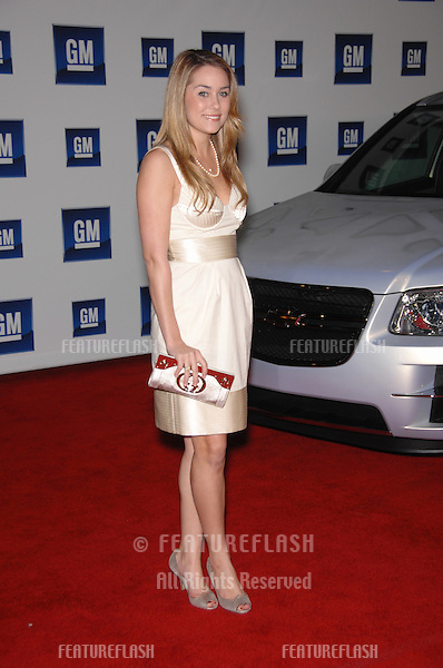 Lauren Conrad at the 2007 GM Ten Fashion Show Gala at Paramount Studios, Hollywood..February 21, 2007  Los Angeles, CA.Picture: Paul Smith / Featureflash