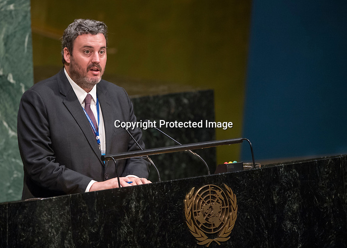 GA 72<br /> High-level meeting of the General Assembly on the appraisal of the United Nations Global Plan of Action to Combat Trafficking in Persons <br /> <br /> International observer for Emigrant