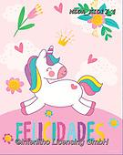 Dreams, CHILDREN, KINDER, NIÑOS, paintings+++++,MEDAKID13/4,#K#, EVERYDAY ,unicorn,unicorns