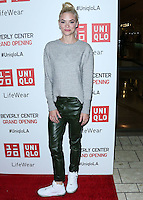LOS ANGELES, CA, USA - OCTOBER 09: Jaime King arrives at the UNIQLO Los Angeles Store Opening held at the UNIQLO Beverly Center Store on October 9, 2014 in Los Angeles, California, United States. (Photo by Xavier Collin/Celebrity Monitor)