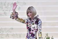 """NEW YORK, NEW YORK - SEPTEMBER 13: Anna Wintour at the 2021 Met Gala benefit """"In America: A Lexicon of Fashion"""" at Metropolitan Museum of Art on September 13, 2021 in New York City. Credit: John Palmer/MediaPunch"""