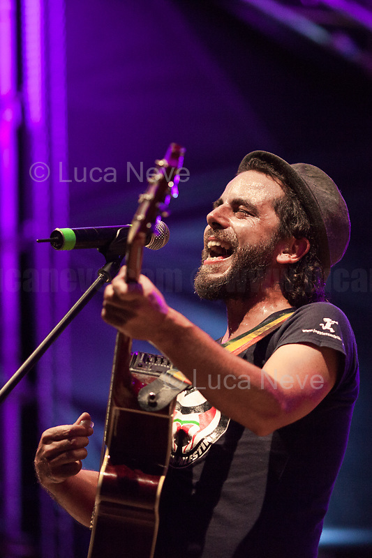 Alessandro, Singer, Songwriter and Musician.<br /> <br /> Rome, 01/05/2019. This year I will not go to a MayDay Parade, I will not photograph Red flags, trade unionists, activists, thousands of members of the public marching, celebrating, chanting, fighting, marking the International Worker's Day. This year, I decided to show some of the Workers I had the chance to meet and document while at Work. This Story is dedicated to all the people who work, to all the People who are struggling to find a job, to the underpaid, to the exploited, and to the people who work in slave conditions, another way is really possible, and it is not the usual meaningless slogan: MAKE MAYDAY EVERYDAY!<br /> <br /> Happy International Workers Day, long live MayDay!