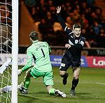 27.3.2018: St Mirren v Dumbarton:<br /> Cammy Smith scores goal no 2 for St Mirren and celebrates