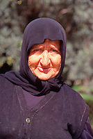 Greece Lefkas A village lady