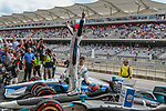 Indy Car drivers,crews and fans in action during the Indy Car Classic race at the Circuit of the America's racetrack in Austin, Tx.