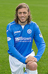 St Johnstone FC 2014-2015 Season Photocall..15.08.14<br /> Murray Davidson<br /> Picture by Graeme Hart.<br /> Copyright Perthshire Picture Agency<br /> Tel: 01738 623350  Mobile: 07990 594431