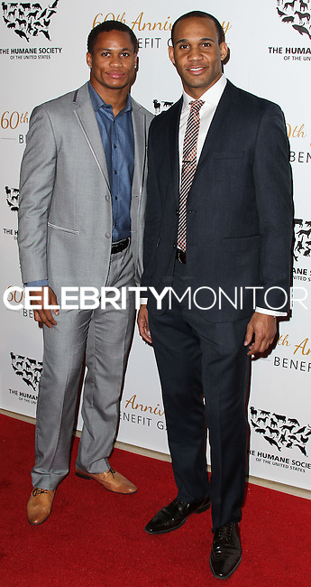 BEVERLY HILLS, CA, USA - MARCH 29: Bret Lockett at The Humane Society Of The United States 60th Anniversary Benefit Gala held at the Beverly Hilton Hotel on March 29, 2014 in Beverly Hills, California, United States. (Photo by Xavier Collin/Celebrity Monitor)