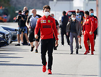 1st May 2021; Algarve International Circuit, in Portimao, Portugal; F1 Grand Prix of Portugal, qualification sessions;  Charles Leclerc MCO 16, Scuderia Ferrari Mission Winnow