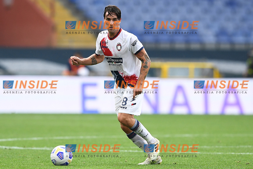 Luca Cigarini <br /> Serie A football match between Genoa CFC and FC Crotone at Marassi Stadium in Genova (Italy), September 20th, 2020. Photo Image Sport / Insidefoto