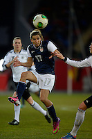 Offenbach, Germany, Friday, April 05 2013: Womans, Germany vs. USA, in the Stadium in Offenbach,  Tobin Heath (USA)..