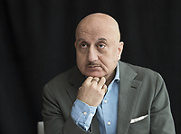 Anupam Kher at the Hotel Mumbai press conference in New York City on 17 March 2019. Credit: Magnus Sundholm/Action Press/MediaPunch ***FOR USA ONLY***