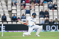 Virat Kohli, India comfortably evades a short delivery during India vs New Zealand, ICC World Test Championship Final Cricket at The Hampshire Bowl on 19th June 2021