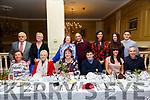 Wedding Anniversary: Denise & Sid Ramdas, Listowel & London, centre back,  celebrating their wedding anniversary with family at the Listowel Arms Hotel on Saturday night last.