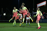 Katie McCabe of Arsenal goes close during Arsenal Women vs Manchester City Women, FA Women's Continental League Cup Football at Meadow Park on 29th January 2020