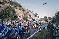 peloton over the Capo Berta<br /> <br /> 109th Milano-Sanremo 2018<br /> Milano > Sanremo (291km)