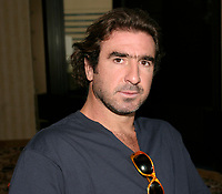 Sept 1,  2003, Montreal, Quebec, Canada<br /> <br /> Eric Cantona, actor - L'OUTREMANGEUR (THE OVEREATER)   during the Montreal World Film Festival, Sept 1 2003<br /> <br /> The Festival runs from August 27th to september 7th, 2003<br /> <br /> <br /> Mandatory Credit: Photo by Catherine Tadros- Images Distribution. (©) Copyright 2003 by Catherine Tadros