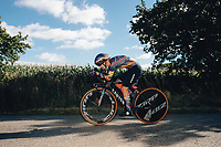 6th October 2021 Womens Cycling Tour, Stage 3. Individual Time Trial; Atherstone to Atherstone. Hannah Barnes.