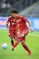 Serge GNABRY (M) Action, Soccer 1st Bundesliga, 1st matchday, Borussia Monchengladbach (MG) - FC Bayern Munich (M) 1: 1, on August 13th, 2021 in Borussia Monchengladbach / Germany. #DFL regulations prohibit any use of photographs as image sequences and / or quasi-video # Â