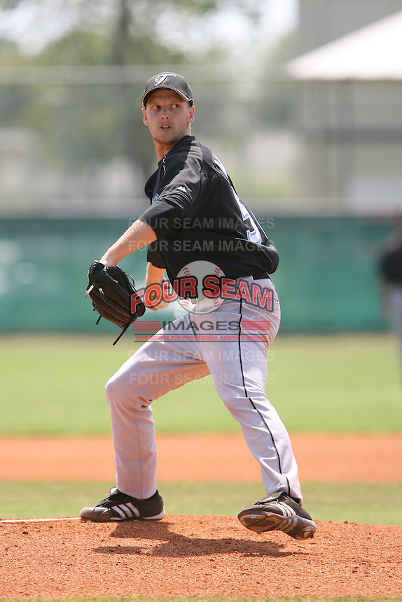 March 19th 2008:  Adrian Martin of the Toronto Blue Jays minor league system during Spring Training at the Raymond A. Naimoli Complex in St. Petersburg, FL.  Photo by:  Mike Janes/Four Seam Images
