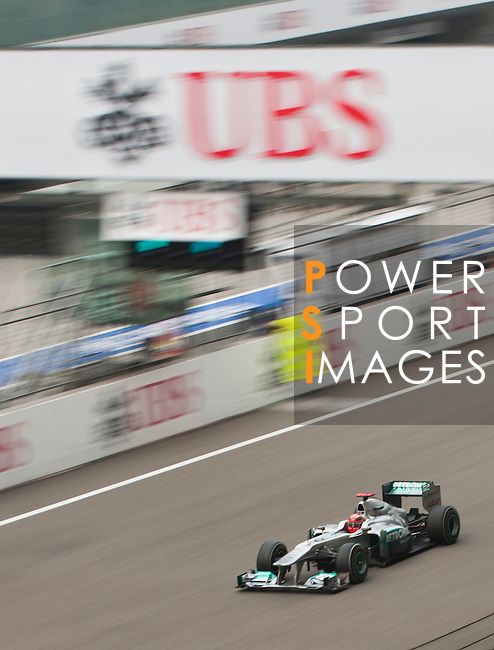 Day 1 of the UBS Chinese Grand Prix on 15th April 2011. Photo by Victor Fraile / The Power of Sport Images for UBS