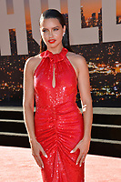 """LOS ANGELES, USA. July 23, 2019: Adriana Lima at the premiere of """"Once Upon A Time In Hollywood"""" at the TCL Chinese Theatre.<br /> Picture: Paul Smith/Featureflash"""