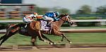 April 30, 2021 : Malathaat, #10, ridden by jockey John Velazquez, wins the 147th running of the Longines Kentucky Oaks on Kentucky Oaks Day at Churchill Downs on April 30, 2021 in Louisville, Kentucky. Scott Serio/Eclipse Sportswire/CSM
