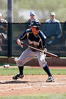Lee Haydel - Milwaukee Brewers - 2009 spring training.Photo by:  Bill Mitchell/Four Seam Images