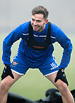 St Johnstone Training…….07.02.20<br />Matt Butcher pictured during a foggy training session at McDiarmid Park this morning ahead of tomorrows Scottish Cup game at Ayr.<br />Picture by Graeme Hart.<br />Copyright Perthshire Picture Agency<br />Tel: 01738 623350  Mobile: 07990 594431