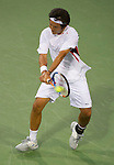 Tatsuma Ito (JPN) loses to James Blake (USA) at Legg Mason Tennis Classic in Washington D.C. on August 1, 2011.  Blake won, 6-3, 6-3.