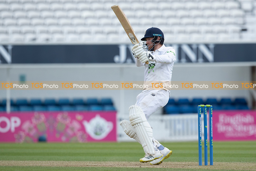 Liam Dawson pulls a short delivery in front of square during Surrey CCC vs Hampshire CCC, LV Insurance County Championship Group 2 Cricket at the Kia Oval on 1st May 2021