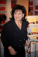 Anne Sinclair.Parigi 17/3/2012 32 salone del Libro.Foto Insidefoto / JB Autissier / PanoramiC.ITALY ONLY
