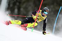21st December 2020; Alta Badia Ski Resort, Dolomites, Italy; International Ski Federation World Cup Slalom Skiing; Filip Zubcic (CRO)