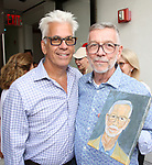 Steve Bakunas and Sam Rudy attend the Retirement Celebration for Sam Rudy at Rosie's Theater Kids on July 17, 2019 in New York City.