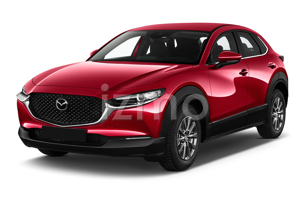 2020 Mazda CX 30 Skydrive-Lux 5 Door SUV angular front stock photos of front three quarter view