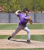 Tommy Doyle - Colorado Rockies 2019 extended spring training (Bill Mitchell)