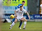 St Johnstone v Ross County… McDiarmid Park..     SPFL<br />Craig Curran and Richie Foster<br />Picture by Graeme Hart.<br />Copyright Perthshire Picture Agency<br />Tel: 01738 623350  Mobile: 07990 594431