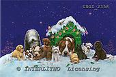 GIORDANO, CHRISTMAS ANIMALS, WEIHNACHTEN TIERE, NAVIDAD ANIMALES, paintings+++++,USGI2358,#XA#