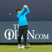 200719 | The 148th Open - Day 3<br /> <br /> Francesco Molinari of Italy on the 1st during the 148th Open Championship at Royal Portrush Golf Club, County Antrim, Northern Ireland. Photo by John Dickson - DICKSONDIGITAL